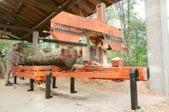 Sega tronchi, Wood Mizer
